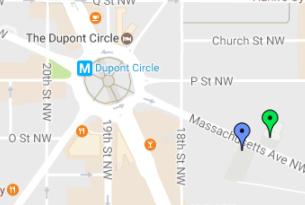 highlight location near dupont circle