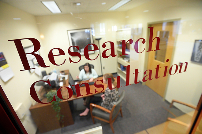 Research consultation office