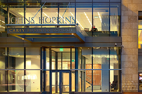 It Is Located On The Second Floor Of Carey Business School S Harbor East Campus Next To Center