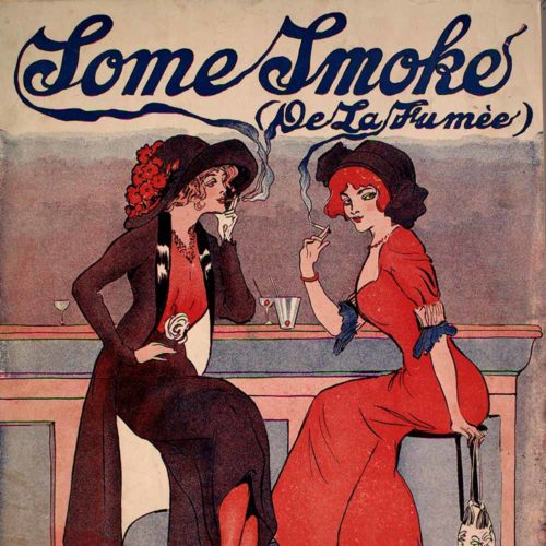 Cover of sheet music titled Some Smoke