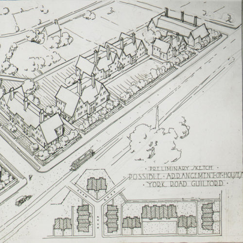Illustration of a neighborhood plan