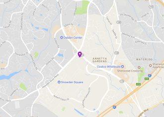 Map to Sheridan Libraries at Columbia