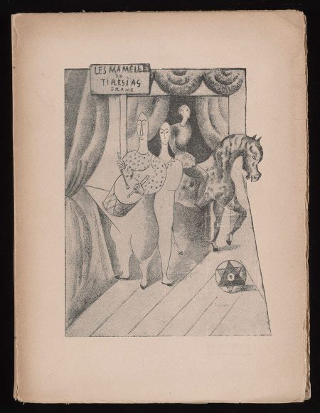 Book cover, The Birth of Surrealism