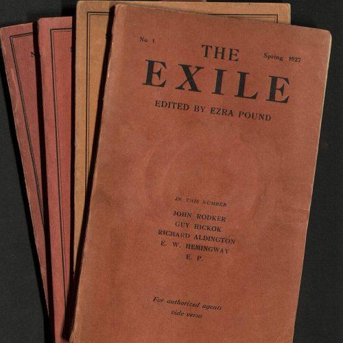 ezra pound the exile