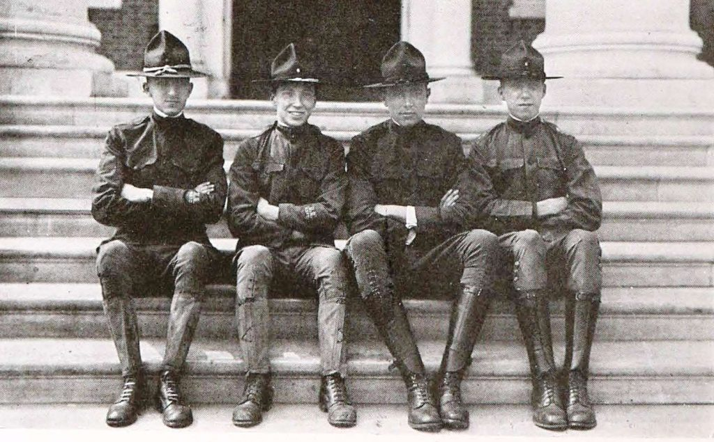 historic photograph of soliders