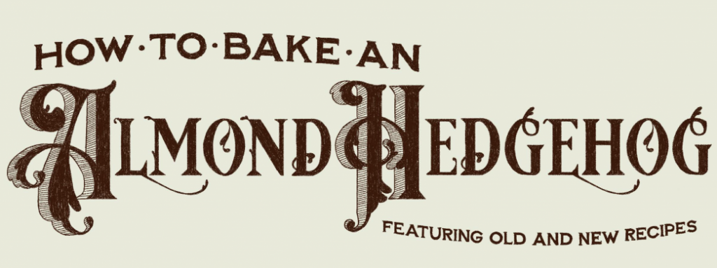 Cover of Almond Hedgehog recipe book